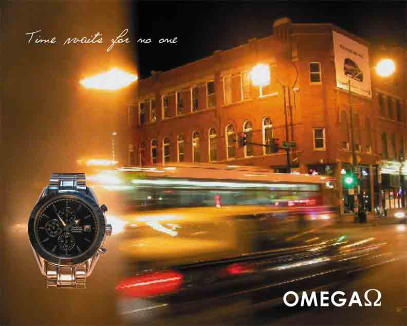 Advertisement -Omega Watches